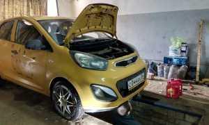 Kia Picanto масло для АКПП какое и сколько лить