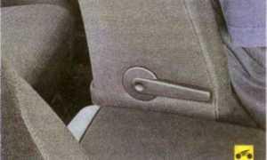Как раскладываются задние сиденья на Ford Focus 2