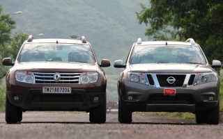 Сравнительный тест Nissan Terrano и Renault Duster